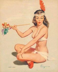 pin-up girl by Amber-Rae Orchard, via Flickr...jsg