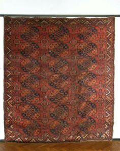 turkmen nomads tent decoration rugs, 19th