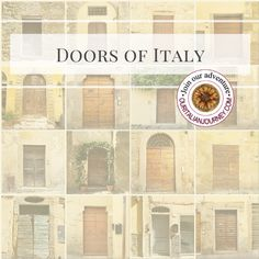 Photography of wooden doors in Italy from various towns. Wooden Doors, Front Doors, Floor Plans, Italy, Windows, Colorful, Adventure, Photography, Entry Doors