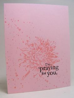 CAS261 Get Well Card by LeAnne Pugliese - Cards and Paper Crafts at Splitcoaststampers