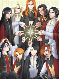 Fëanor and his sons and grandson