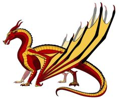 SkyWings - Wings of Fire Wiki Fire Drawing, Ultimate Dragon, Wings Of Fire Dragons, Fire Fans, Overwatch Wallpapers, Beautiful Dragon, Dragon Art, Magical Creatures, Book Fandoms