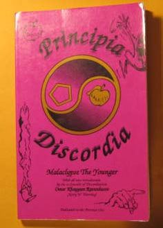 Principia Discordia by Malayclypse the Younger by Pistilbooks on Etsy