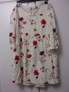 Modcloth pink owl brand size 2xl white dress with blue floral white floral dress old navy small pre owned good condition fashion clothing mightylinksfo