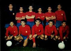 EQUIPOS DE FÚTBOL: SELECCIÓN DE ESPAÑA 1967-68