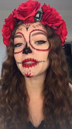 Halloween Eyes, Halloween Makeup Looks, Halloween Outfits, Easy Halloween, Diy Halloween Face Makeup, Halloween Dresses For Kids, Halloween Costume Ideas, Celebrity Halloween Costumes, Halloween Fancy Dress