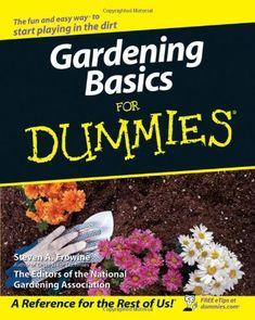 Gardening Basics For Dummies