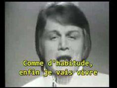 Comme d'habitude...Claude François