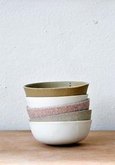 Beautiful pottery by Kirstie Van Noort