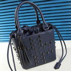 PU Leder Umhängetasche, mit Messing, metallschwarz plattiert, keine, 180x300x140mm, 2Stücke/Gruppe, verkauft von Gruppe - perlinshop.com