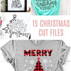 15 Christmas Cut Files for Silhouette or Cricut - Poofy Cheeks Christmas Svg, Christmas Shirts, Christmas Projects, Xmas, Old Fashioned Candy, Cricut Explore Air, Silhouette Projects, Silhouette Cameo, Cricut Creations
