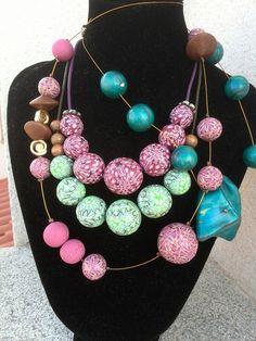 mix collares de bolas