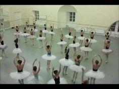 Vaganova Ballet Academy rehearses The Nutcracker