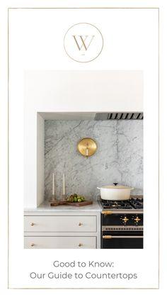 Granite Countertops, Home Kitchens, Kitchen Island, Coastal, Marble, New Homes, Cottage, Interior Design, Blog