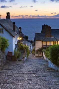 Clovelly in Devon, England. The kind of place I'd like to retire to one day.