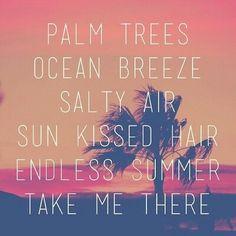 Wanting summer!