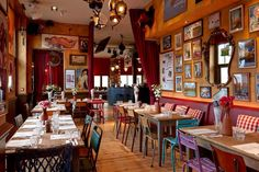 London's Quirkiest Restaurants - For when plain old food just isn't enough.