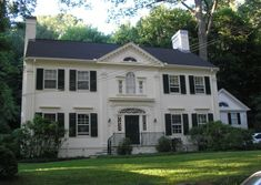 images of Historic homes in CT   ... , 2010 Posted in Colonial Revival , Hamden , Houses   2 Comments
