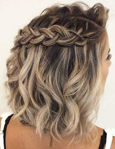 Fascinating Half Braided Medium Hairstyles to Look Beautiful and Young Ever Fascinating Half Braided Medium Hairstyles to Look Beautiful and Young Ever
