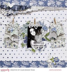 Hi there, Sharing some fun news today I'm a guesting at uniquely creative kits this month and super excited to share some fun layout. Paper Bag Scrapbook, 12x12 Scrapbook, Wedding Scrapbook, Scrapbook Page Layouts, Scrapbook Albums, Scrapbooking Ideas, Smash Book Pages, Landscape Quilts, Collaborative Art