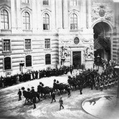 Funeral of Empress Sissi (Vienna– 18 September 1898)