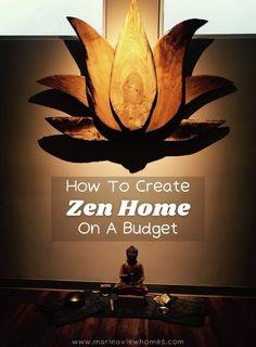 Zen Design Interior, Zen House Design, Interior Design Principles, Zen Room Decor, Zen Interiors, Zen Colors, Den Ideas, Elegant Home Decor, Paint Colors For Living Room