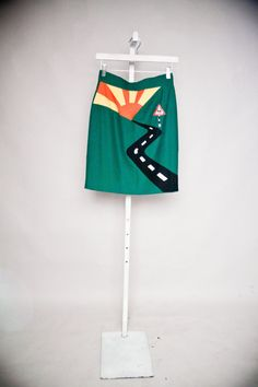 90s Moschino Highway Pencil Skirt by LeLookshop on Etsy