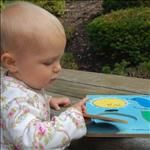 Puzzles help children develop brain function - and can be introduced at a young age - even to infants.