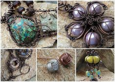 Now you can own most of my wire tutorials in a single collection #4petessake #onlinejewelrytutorials