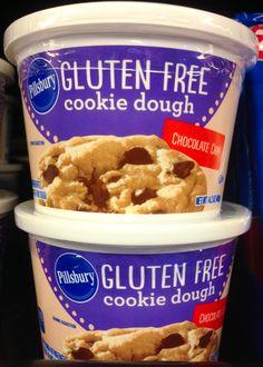 Pillsbury Gluten Free Cookie Dough. Sink or Swim