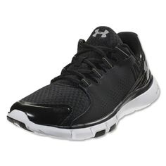 84b9dab09 Under Armour Micro G Limitless TR Running Shoes (Black White) Girls Soccer  Shoes