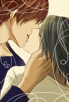 Kiss by みか- Death Note - L / Light