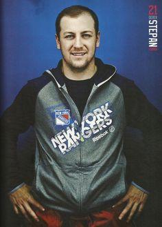 Derek Stepan - 2013-2014 NY Rangers Yearbook