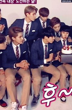 Lay... You cant blow it all the way from there....and Baek blowing Channie's hair Xd
