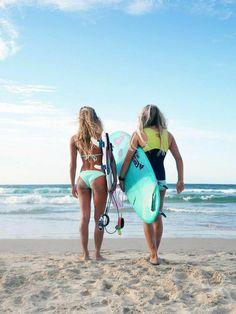 Surf :: Ride the Waves :: Free Spirit :: Gypsy Soul :: Eco Warrior :: Surf Girls :: Seek Adventure :: Summer Vibes :: Surfboard Design + Style :: Free your Wild :: See more Untamed Surfing Inspiration Surf Bikini, Roxy Bikini, Bikini Girls, Roxy Surf, Sup Surf, Surfer Girls, Surfer Dude, Kitesurfing, Surfergirl Style