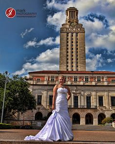 Bridals at the UT Tower with JMarkPhotography.com