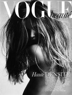 Photo by Patrick Demarchelier, Vogue Paris Beauty* Vogue Cover, Vogue Magazine Covers, Fashion Magazine Cover, Fashion Cover, Magazine Cover Design, Patrick Demarchelier, Vogue Paris, Beauty Editorial, Editorial Fashion