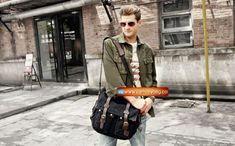 Genuine-Cow-Leather-Canvas-Bag-Messenger-Bag-Canvas-Bag-Laptop-Bag-4