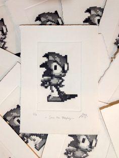 Sonic print. Pixelskaya