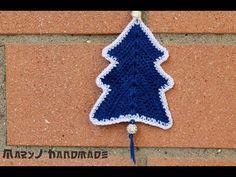 Albero di Natale all'uncinetto   Crocheted Christmas tree