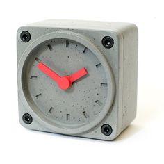Timebrick Concrete Clock by Gramms   MONOQI #bestofdesign #clocks