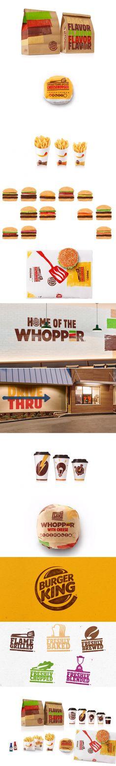 Burger King Rebrand — The Dieline | Packaging & Branding Design & Innovation News