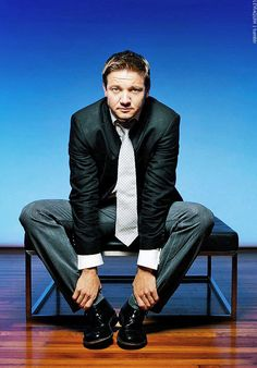 Jeremy Renner is perfection. ❤