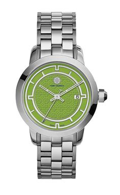 Tory Burch Silver Tory Watch