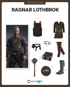 Rise to power like King Ragnar of the House of Lothbrok with a costume that is worthy of greatness.