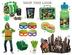 Teenage Mutant Ninja Turtles products available at BirthdayExpress.com