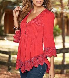 Women Ladies Casual Long Sleeve Lace Shirts Loose Blouses T Shirt Tops Plus Size