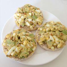 Avocado Ei salade gezonde meeneem lunch eetclean.nl