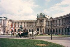 Palacio de Hofburg (Viena - Austria)