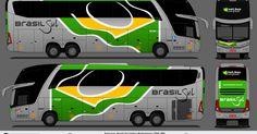 BRASIL SUL LINHAS RODOVIÁRIAS LTDA 2550   MARCOPOLO PARADISO 1600 LD G7   MERCEDES BENZ 0-500 RSD   LONDRINA / PR   DESENHO DE :  Gi...